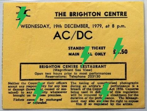 1979 / 12 / 19 - UK, Brighton, The Brighton Centre 19_12_10