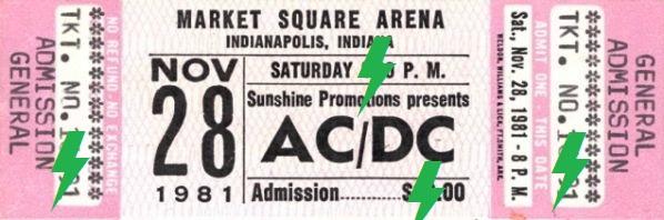 1981 / 11 / 28 - USA, Indianapolis, Market Square Arena 28_11_10