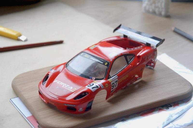 Ferrari F430 1/24 carrosserie plastique. Dsc_3010