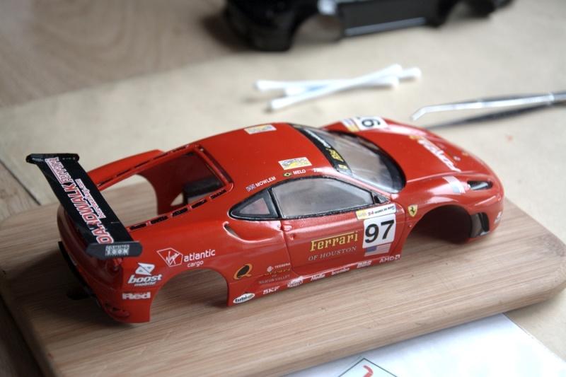 Ferrari F430 1/24 carrosserie plastique. Dsc_3011