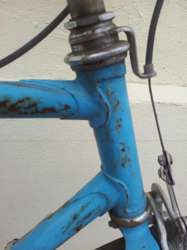 Recherche marque, modèle et date de ce vélo 210