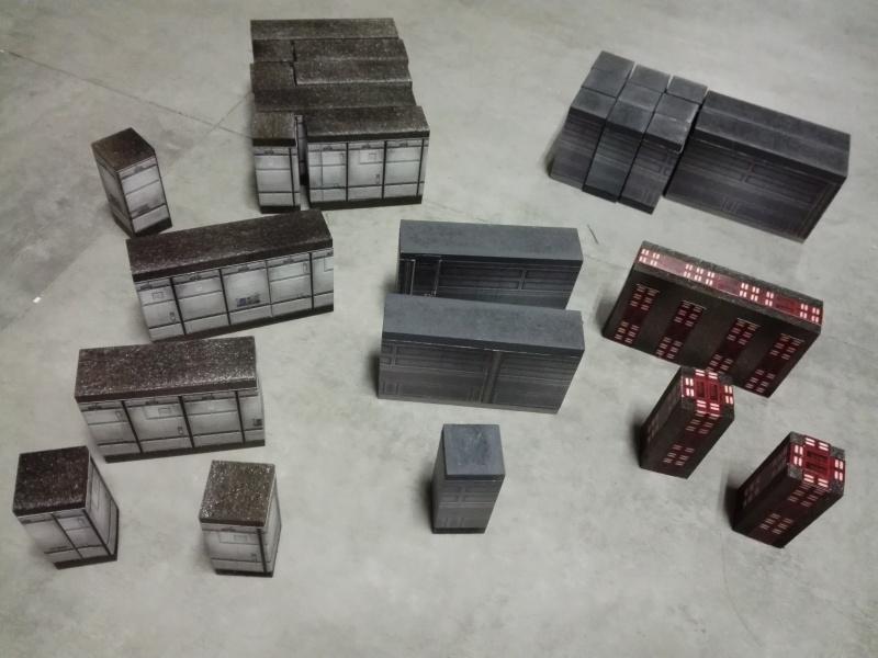Décors de murs pour Star Wars et AvP Img_2095