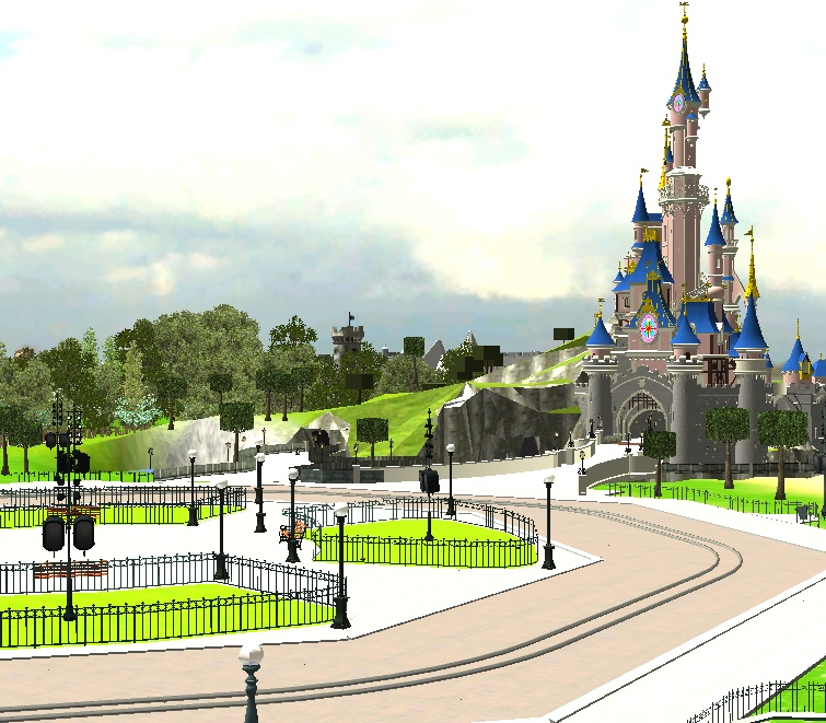 Recreation de Disneyland Paris (creation+importation) - Page 2 Shot0118