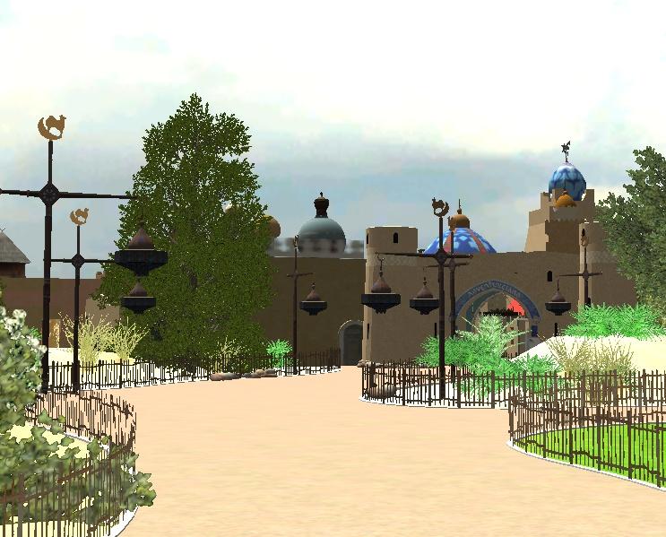 Recreation de Disneyland Paris (creation+importation) - Page 2 Shot0123
