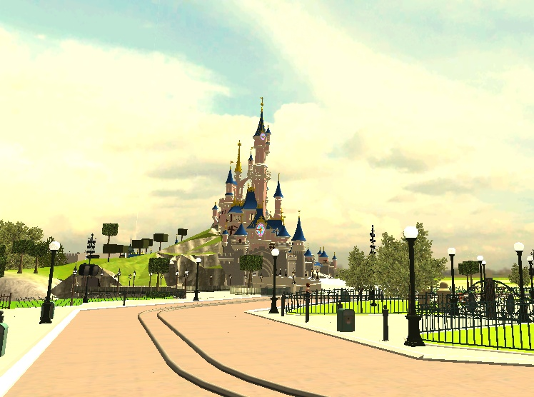 Recreation de Disneyland Paris (creation+importation) - Page 2 Shot0127
