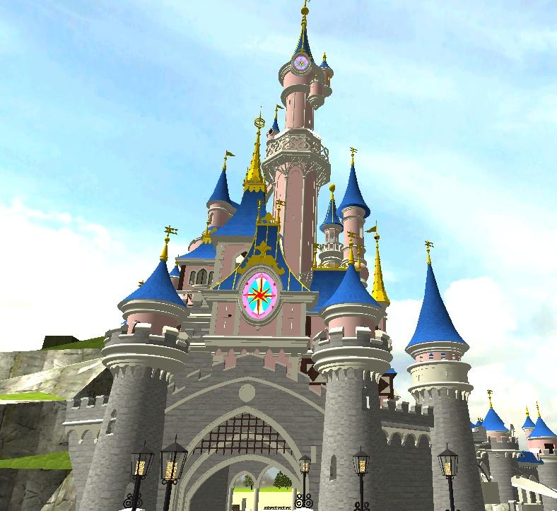 Recreation de Disneyland Paris (creation+importation) - Page 2 Shot0133