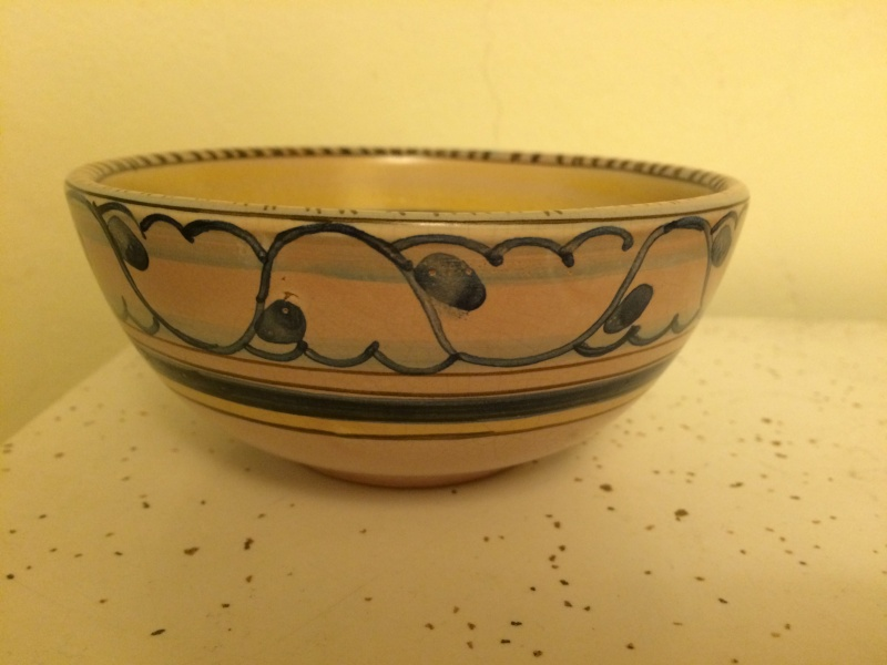 Please help me with this studio pottery flower bowl with signature Img_4110