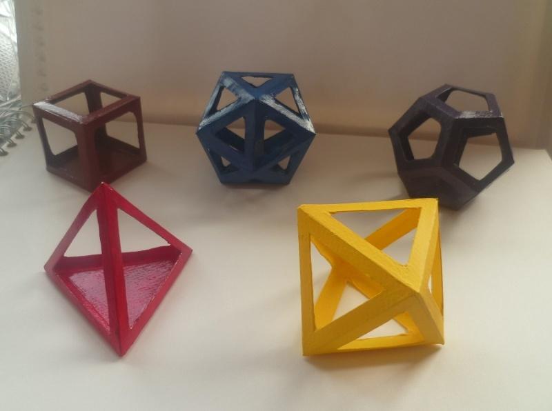 Les solides de Platon Solide10
