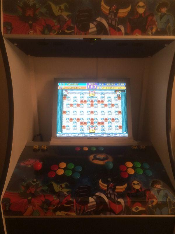 Projet de borne d'arcade sur le thème de Goldorak - Page 2 Img_8011