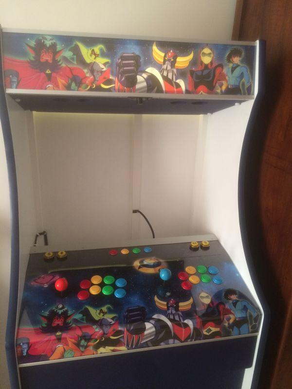 Projet de borne d'arcade sur le thème de Goldorak - Page 2 Img_8012