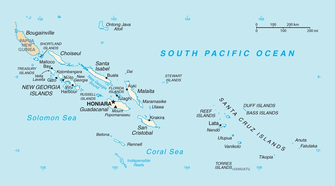 Solomons sinking: Five Pacific reef islands swallowed by rising sea levels Image142