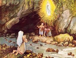 Apparitions de la Vierge Marie à Lourdes : 11 février 1858 Index210