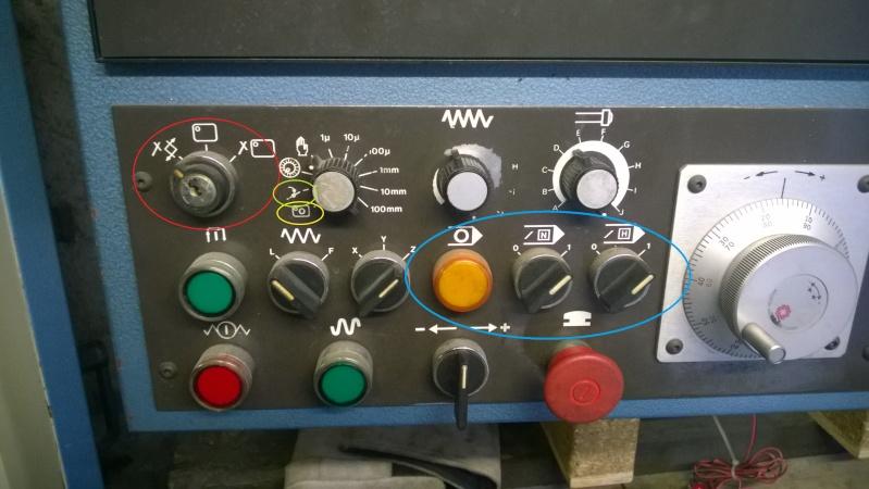 Identification bouton pupitre et éléments armoire electrique Wp_20112
