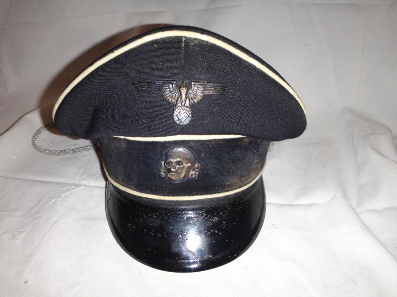 Casquette officier SS Dsc02722