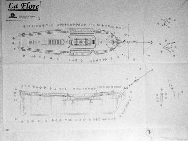 La Flore - 1/84 - base kit Constructo P4060016