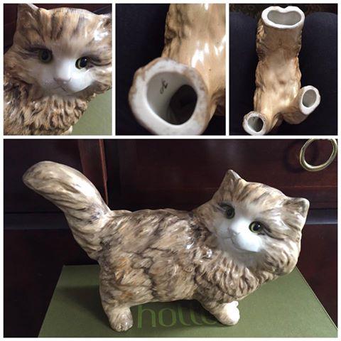 Ceramic Cat - help with id please 12794610