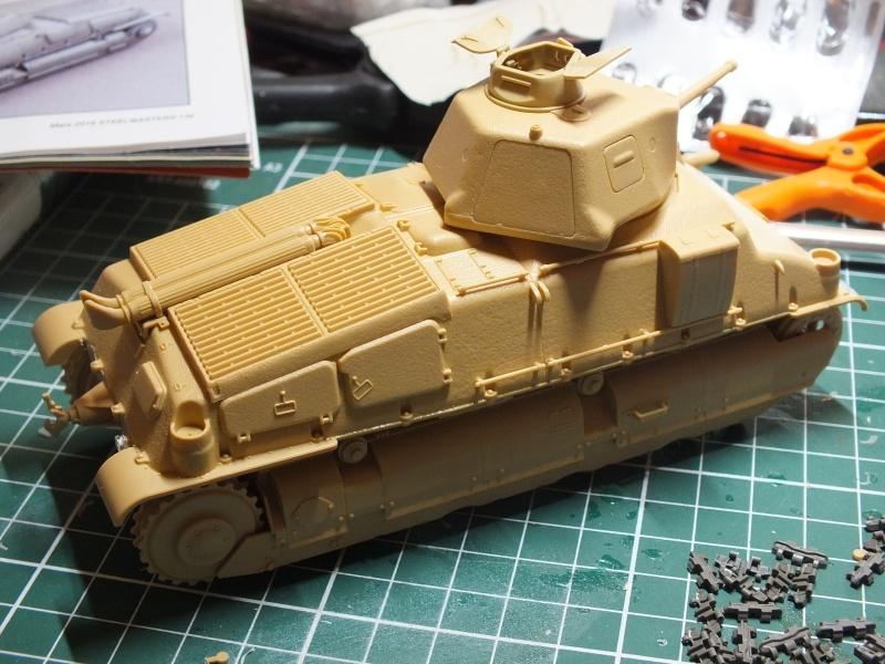 Somua S35 Tamiya 1/35 (déco Beute Panzer) réf.35344 montage terminé Dscf9629