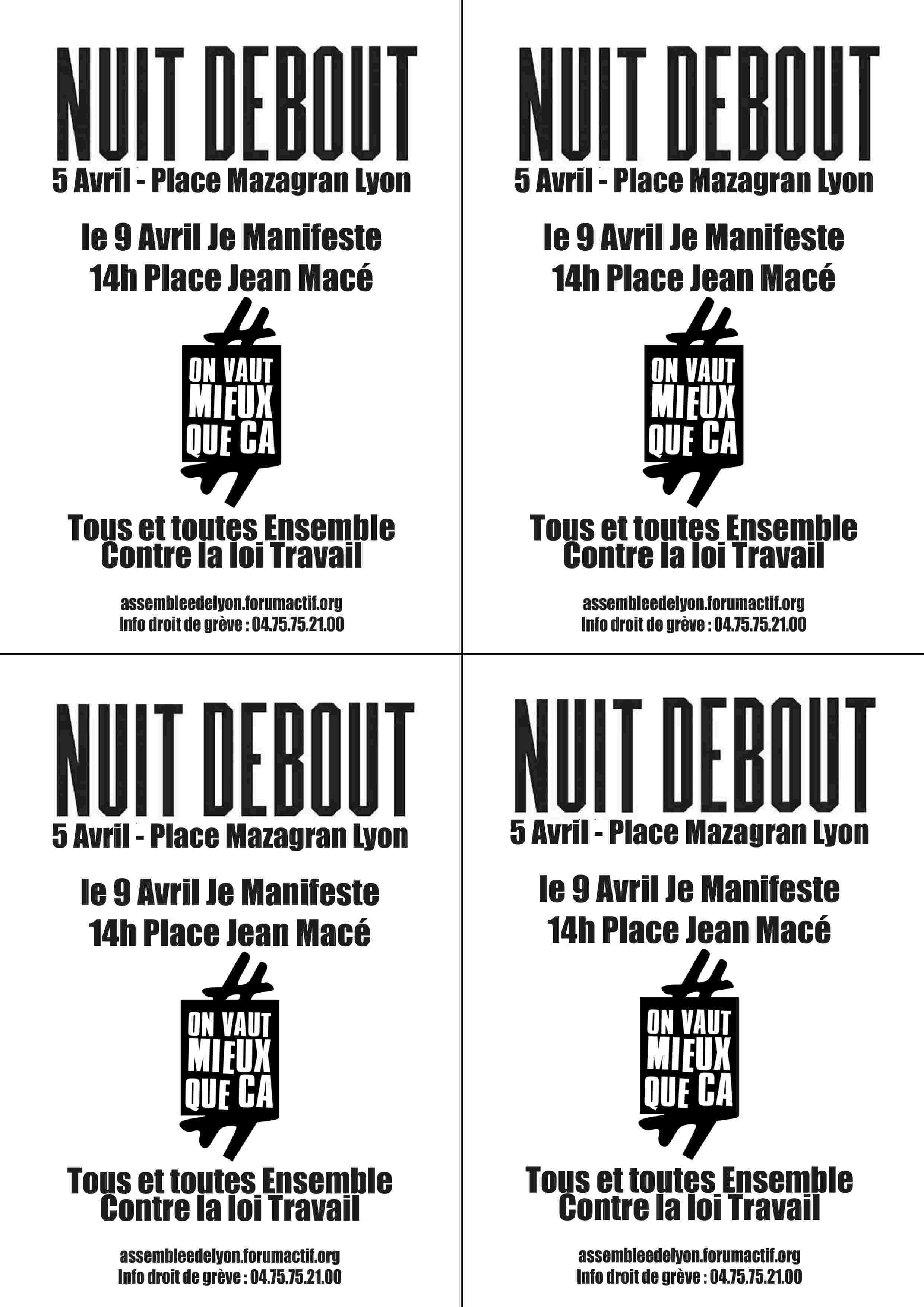 Tract 5 et 9 avril Tract511