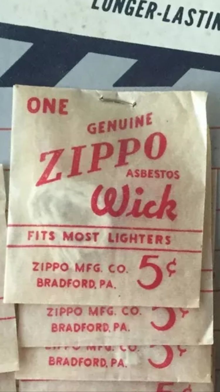 Black - À vendre, Wick,Mèche Zippo scellé 1940/50 WWII  Image11
