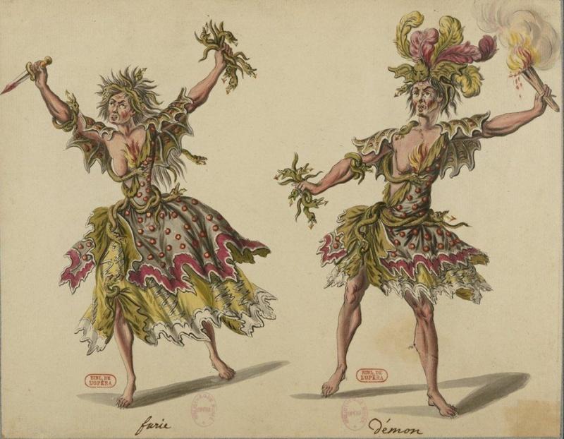 Costumes de ballet au XVIIIe siècle Boquet10
