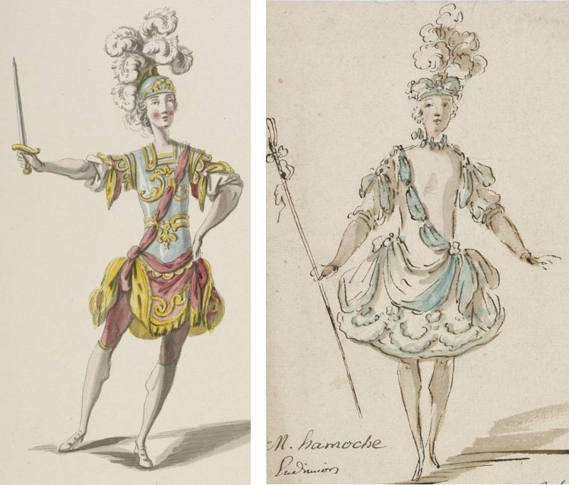 Costumes de ballet au XVIIIe siècle Hommes10