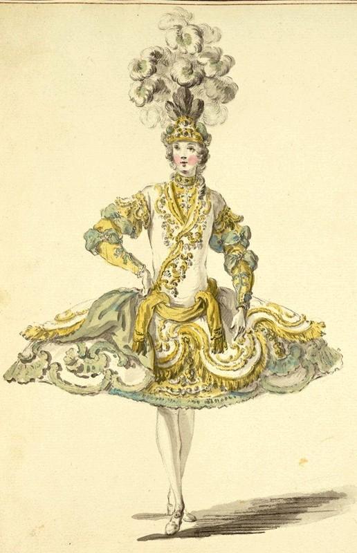 Costumes de ballet au XVIIIe siècle Hommes11