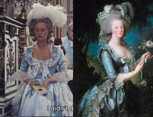 Les robes portées par les Marie Antoinette de nos écrans Screen11