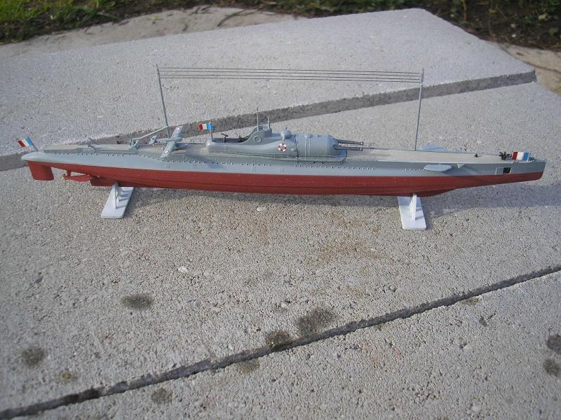Croiseur sous marin SURCOUF Réf 81014 1310