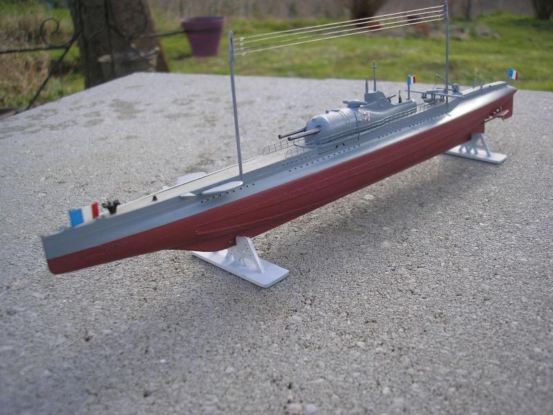 Croiseur sous marin SURCOUF Réf 81014 1510