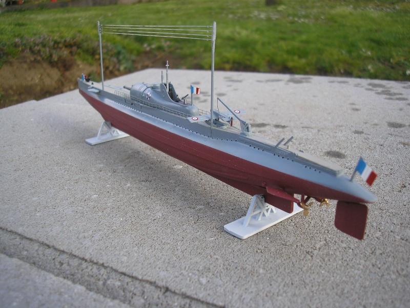 Sous marin SURCOUF HELLER au 400ème 1610