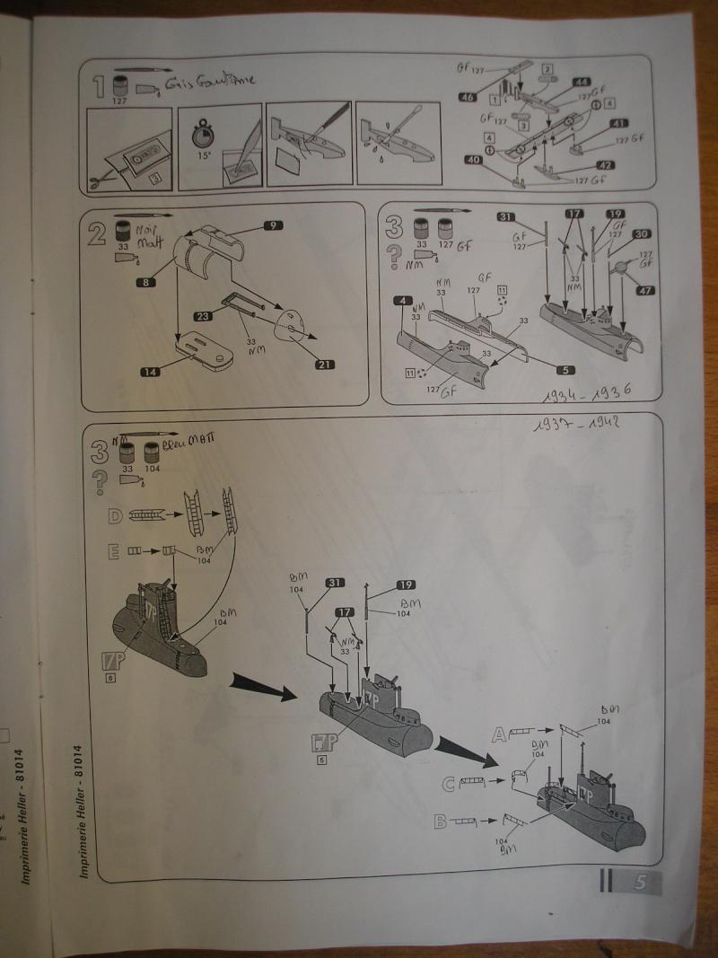 Sous marin SURCOUF HELLER au 400ème 511