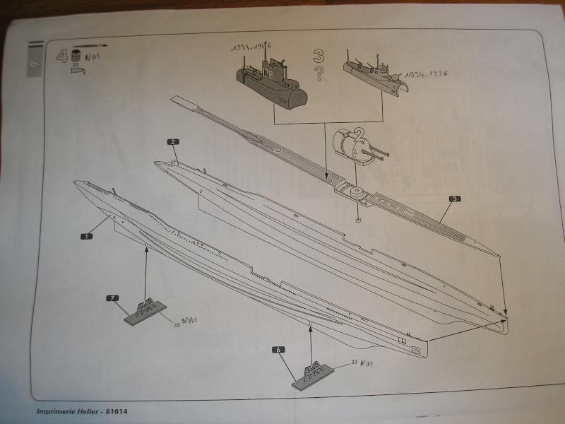 Sous marin SURCOUF HELLER au 400ème 611