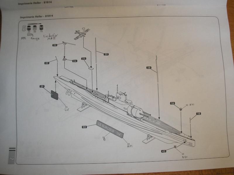 Sous marin SURCOUF HELLER au 400ème 711