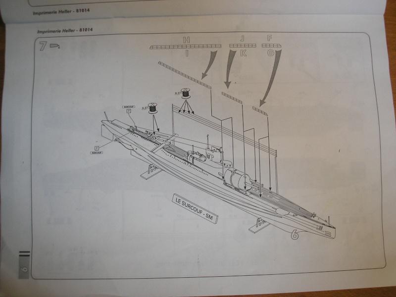 Croiseur sous marin SURCOUF Réf 81014 910