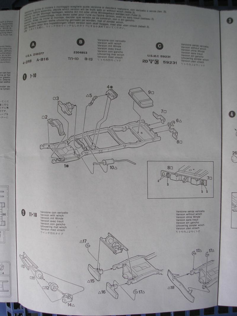 [ITALERI] - DODGE 3/4 TON BEEP - 1/35ème - Ref 237  Dodge_13