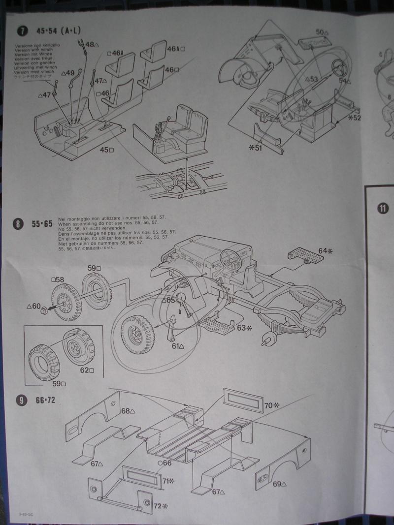 [ITALERI] - DODGE 3/4 TON BEEP - 1/35ème - Ref 237  Dodge_14