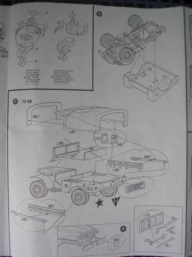 [ITALERI] - DODGE 3/4 TON BEEP - 1/35ème - Ref 237  Dodge_17