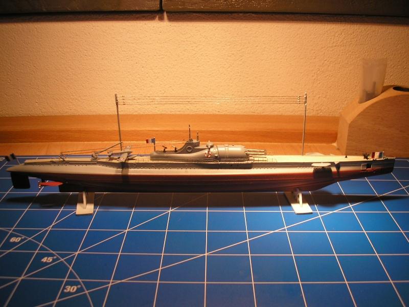 Croiseur sous marin SURCOUF Réf 81014 Heller23