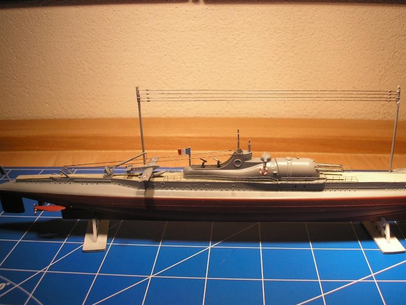 Croiseur sous marin SURCOUF Réf 81014 Heller24