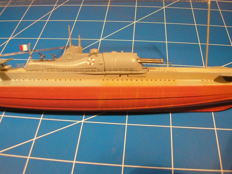 Croiseur sous marin SURCOUF Réf 81014 Heller25