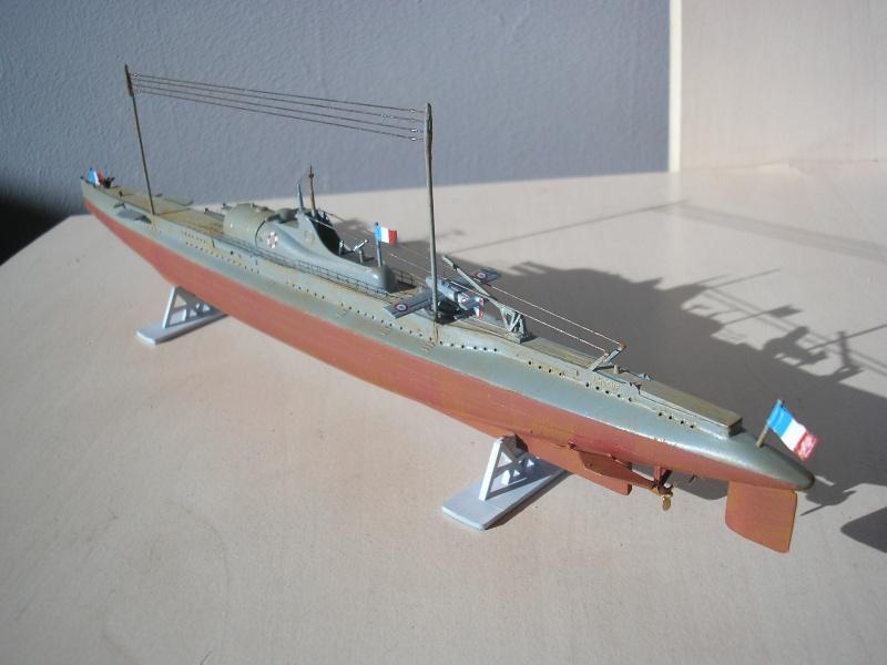 Sous marin SURCOUF HELLER au 400ème Heller28