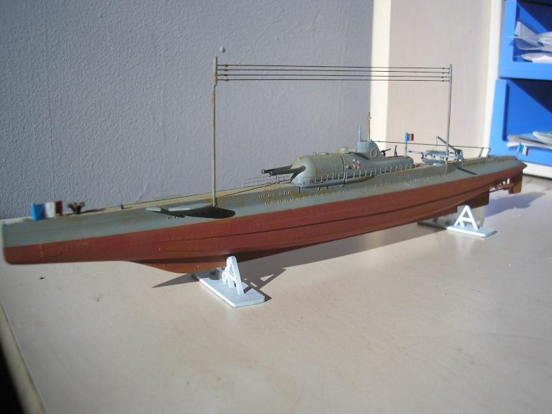 Croiseur sous marin SURCOUF Réf 81014 Heller31