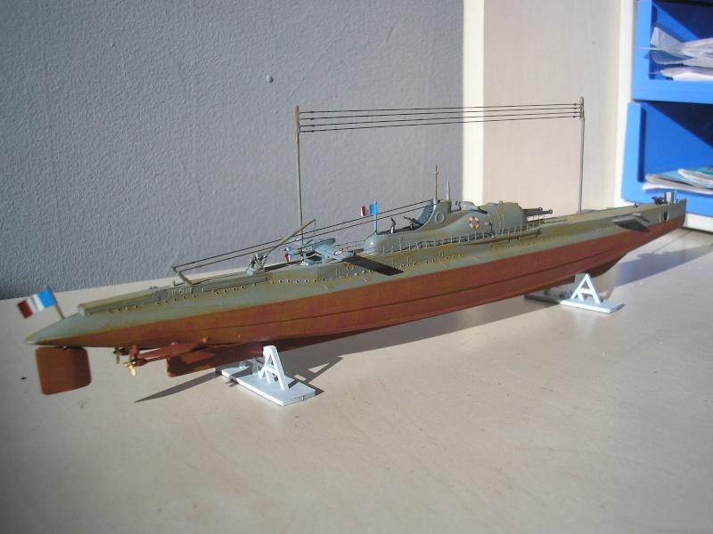 Croiseur sous marin SURCOUF Réf 81014 Heller33