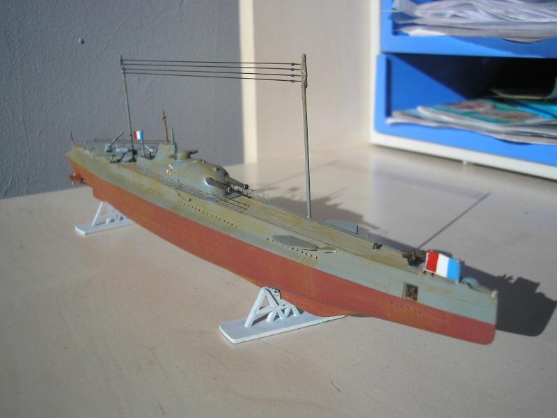 Croiseur sous marin SURCOUF Réf 81014 Heller34