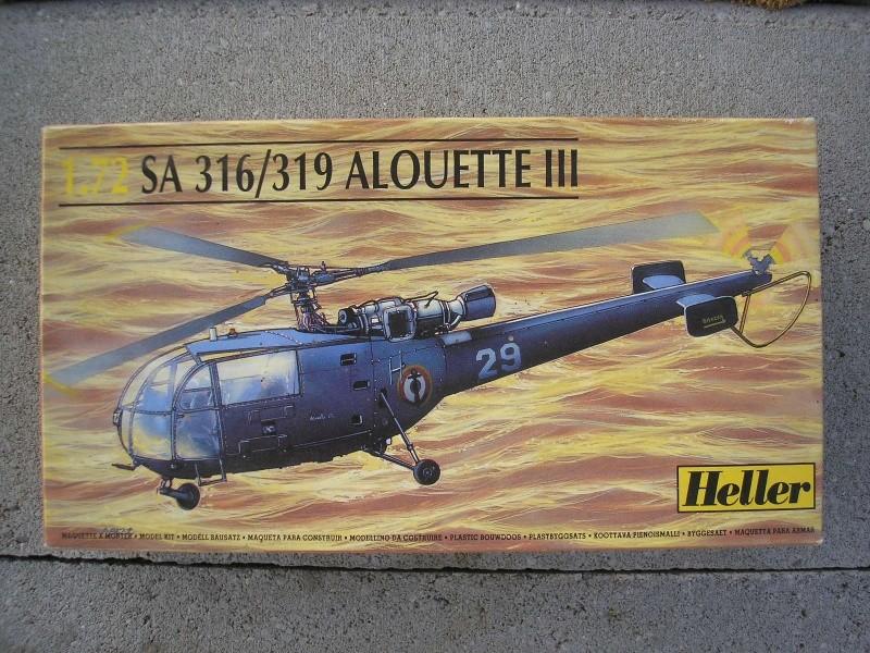ALOUETTE III SA 316-319 - 1/72ème Heller39