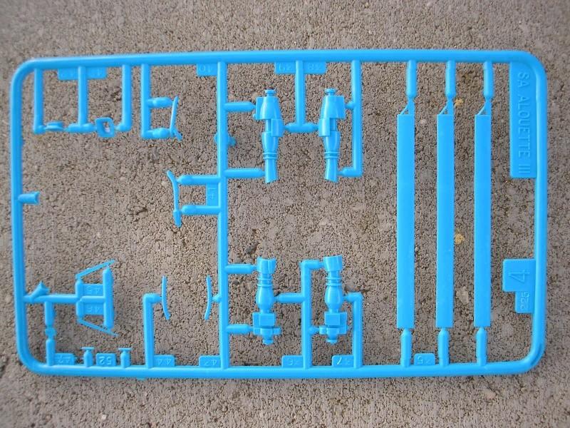 ALOUETTE III SA 316-319 - 1/72ème Heller46