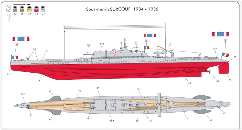 sous-marin Surcouf 1936 Screen12