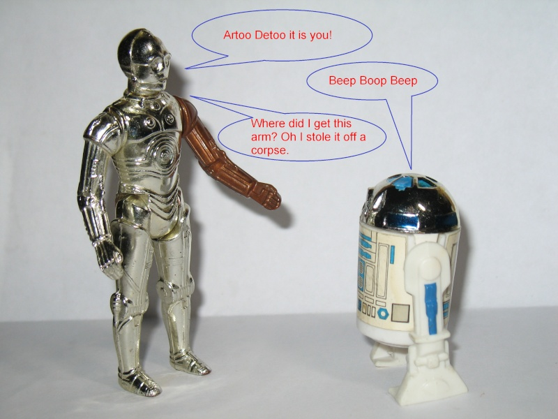 Why C-3PO's arm was red in TFA revealed! 005a10