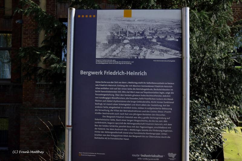 Zeche Friedrich-Heinrich Schacht 1 + 2 Img_8133