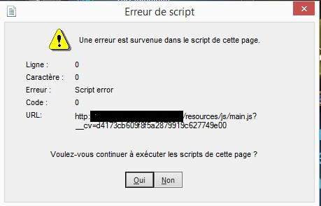 probleme de flash sur webbrowser Erreur10